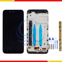 100% Tested Touch Screen Sensor Panel For Xiaomi Mi A1 For Xiaomi Mi 5X A1 LCD Display With Touch Screen Complete Assembly 5 0 inch touch screen for xiaomi mi4i touch screen for xiaomi mi4i mi 4i touch screen smart phone