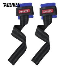 AOLIKES, 2 шт./лот, спортивный браслет для спортзала, фитнес, гантели, тренировочный, поддержка запястья, ремни, обертывания, с ручными силовыми полосами, горизонтальный стержень