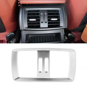 ABS Rear Air Conditioning Vent Frame Cover Trim Fits for BMW X3 F25 X4 F26 2011-2017 car style