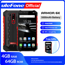 Ulefone Armor 6E Tahan Air IP68 NFC Kasar Ponsel Helio P70 Otca-Core Android 9.0 4GB + 64GB Nirkabel Biaya Smartphone(China)