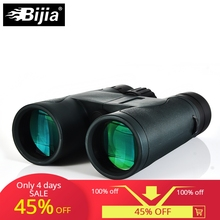BIJIA Telecope HD 10x42 Binoculars Professional Bark4 Hunting Teleskop Vision Eyepiece Binocular Army Camping Tools night vision