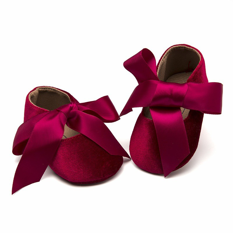 Baby Girl Shoes Autumn Casual  Soft Baby Shoes Rubber Sole Anti-Slip First Walkers Shoes