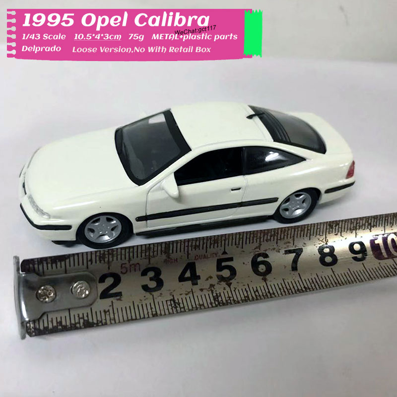 Delprado 1/43 Scale Car Model Toys 1995 Opel Calibra Diecast Metal Car Model Toy For Gift/Kids/Collection/Deocration