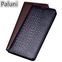 Luxury Business Genuine Leather Magnet Flip Coque Case For Huawei Nova 4/Nova 4e/Nova 3 3i/Nova 2 Plus/Nova 2s Flip Phone Cover