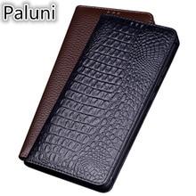 Luxury Business Genuine Leather Magnet Flip Coque Case For Huawei Enjoy 9 Plus/Enjoy 9/Enjoy 8 Plus/Enjoy 7S Flip Phone Cover enjoy