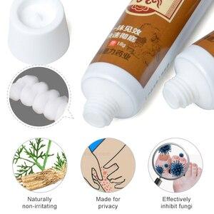 Image 5 - 1pcs Remove Odor Antibacterial Cream Pussy Underarm Armpit Intimate Body Deodorant Pruritus Dermatitis Herbal Ointment P1062