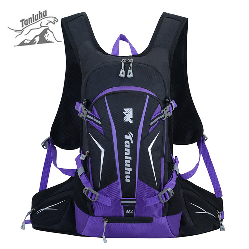 25L Sport Reflective Backpack Cycling Bag Camping Backpacks For Bicycle Women Men Bike Outdoor Running Hiking Rucksack XA975WD