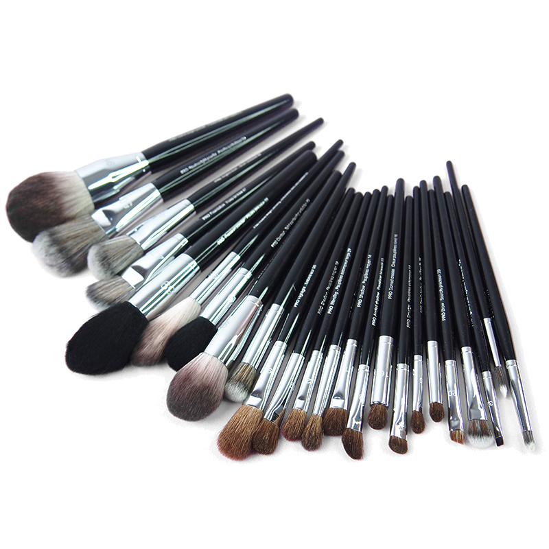 Professional Makeup brushes Big allover Powder Contour Foundation Fan sculpting Precision angled Blusher Kabuki airbrush Make up