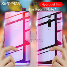 XINDIMAN 25D Full hydrogel-Film for xiaomi redmiK20 K20pro screen protector redmi Note7 note7pro Front back soft film