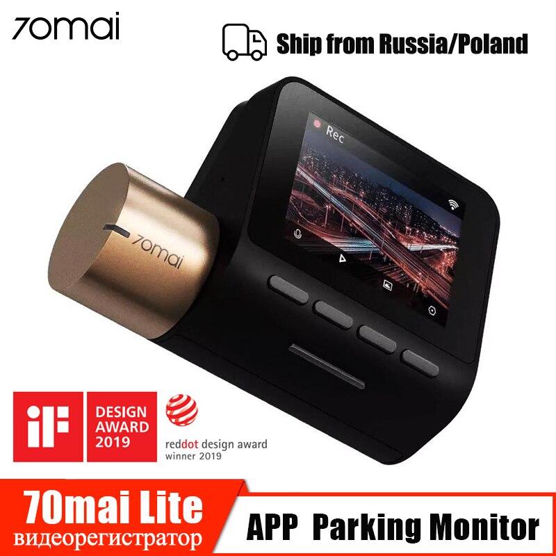 70mai traço cam lite wifi gps módulo velocidade 70mai dashcam câmera do carro dvr 24 h monitor de estacionamento 1080 p hd visão noturna gravador de vídeo