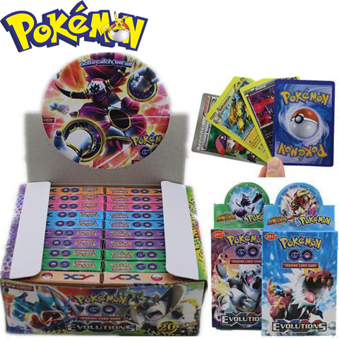 660cards / Box  Improvement Card Chinese Cards Pokemon Super Evolution Magic Children's Toy