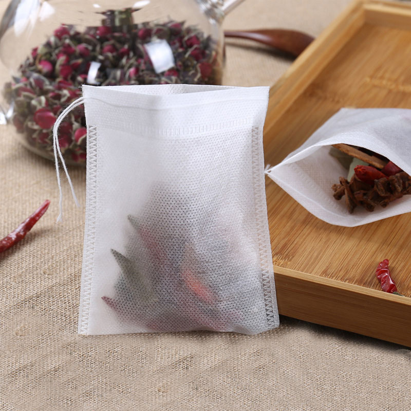 Чайные пакетики 6X8 5X7 см, 500 шт., пустой ароматизированный чайный пакетик со шнурком, запаянный фильтр, одноразовые чайные пакетики для травяного зеленого чая|Одноразовые чайные пакетики|   | АлиЭкспресс