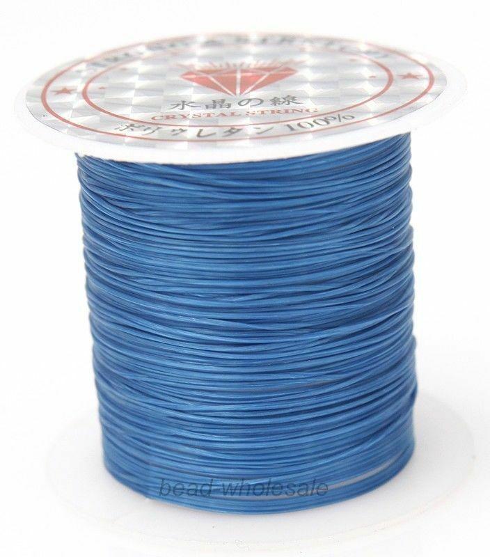 393 дюйма/рулон, крепкий эластичный шнур для бисероплетения с кристаллами, 1 мм, для браслетов, стрейчевая нить, ожерелье, сделай сам, для изготовления ювелирных изделий, шнуры, линия - Цвет: Color 24