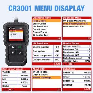 Image 5 - LAUNCH X431 CR3001 obd2 전문 자동차 스캐너 OBDII 코드 리더 자동차 진단 도구 엔진 끄기 러시아어 elm327