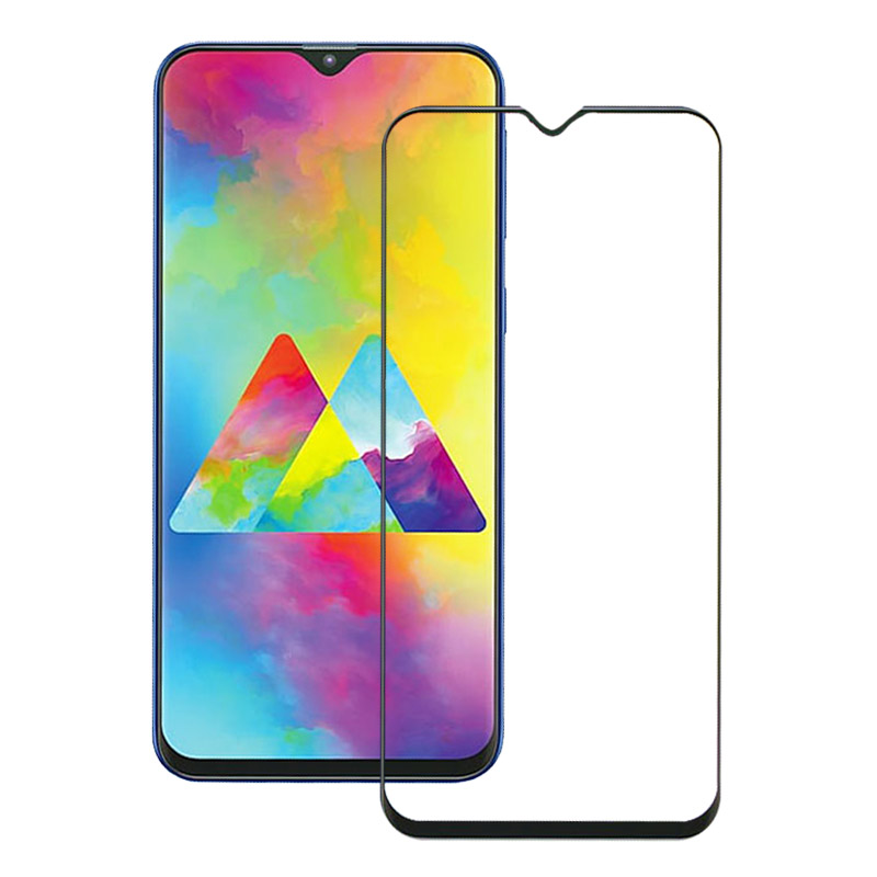 Image 4 - 9H Tempered Glass For Samsung Galaxy A20 A10 A50 A40 A30 A60 A20e A70 Screen Protector For Samsung A70 M30 M30S A20e Full Cover-in Phone Screen Protectors from Cellphones & Telecommunications