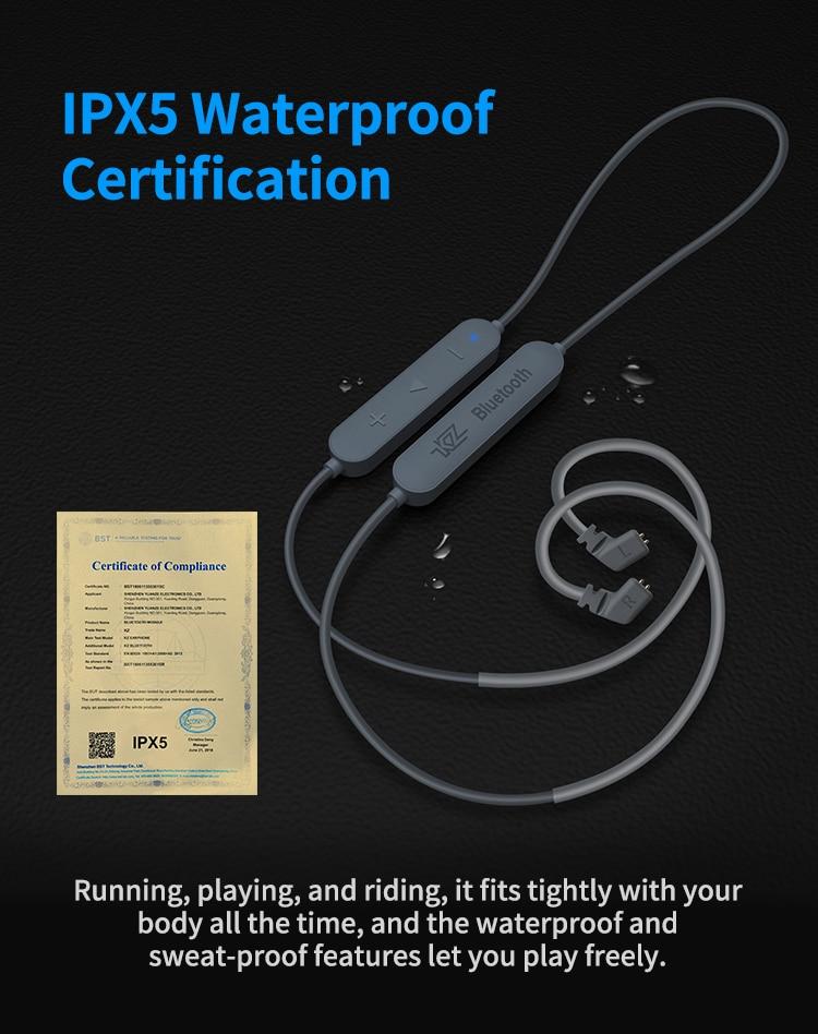 Aptx KZ HD CSR8675 MMCX Módulo Bluetooth