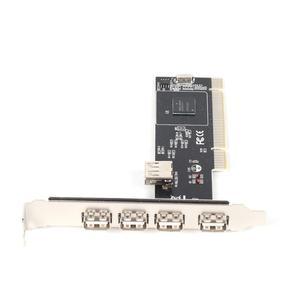 ! 5 PORTS USB 2.0 USB2 PCI CAR
