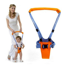 8-18 months baby double-use breathable cotton walker with children's traction belt to protect children's safety,Portable walker