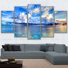 5 Planes Sea Room Decor Canvas Art Painting Picture Photo Living Office for Women and Men