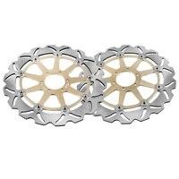 2 шт. передние тормозные диски роторы для Ducati/Laverda/Moto Guzzi/Yamaha/Aprila/BMW/KTM, запасные аксессуары для мотоциклов