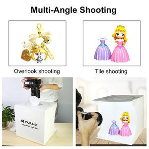 Image 5 - PULUZ 20/30cm lightbox Mini Foldable Photo Studio Box Photography LED 30cm Lightbox Studio Shooting Tent  kit& 6 Color Backdrops