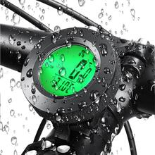 цена на Tricolor Backlight BBike Speed Meter Digital Bike Computer Waterproof Sports Sensors Bicycle Computer Speedometer Cycling Clock
