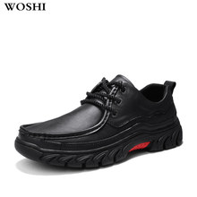 Men's classic business dress shoes genuine leather wear high quality men's shoes lace up fashion men's oxfords shoes Footwear n5(China)