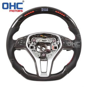 LED Steering Wheel compatible for Mercedes Benz W204,S204W212,V212,S212X156 X253 W246C117,X117 W218 C GLA E GLKB CLA Class