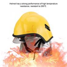 Защитный огнестойкий пожарный защитный шлем антикоррозионный радиационный жаростойкий