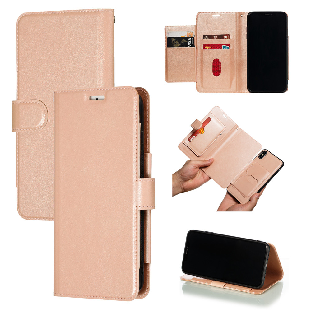 Retro PU Leather Case iPhone 7 6 6S 8 Plus Case iPhone X XS Max XR Case Cover Detachable 2 in 1 Multi Card Wallet Phone cases13