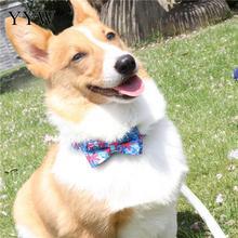 Pets Dog Collar Tie Perro Bow Scarf Nylon Adjustable Bandana Bibs Pet Saliva Towel Bib Accessories