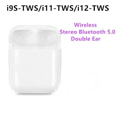 Neue i9s TWS Bluetooth V 5,0 EDR Kopfhörer 1 pairs Wireless Headset Lade Box Stereo Touch Control Ohrhörer für ios android