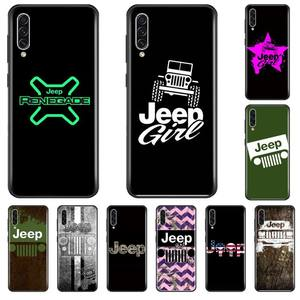 Hot Car Logo Jeep Newly Arrived Black Cell Phone Case For Samsung A20 A30 30s A40 A7 2018 J2 J7 prime J4 Plus S5 Note 9 10 Plus