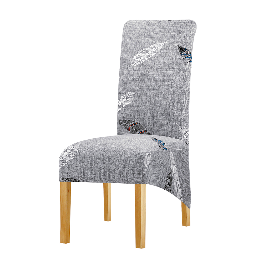 XL Size Stretch Chair Cover Big Elastic Long Back King Back Chair Covers Spandex Fabric Chair