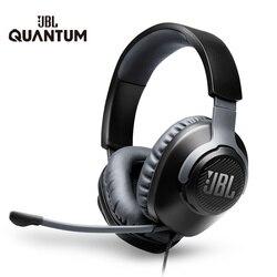 JBL игровая гарнитура QUANTUM100 7,1 с микрофоном складные наушники для PS4 Для Nintendo Switch для Xbox One PC TV Phone