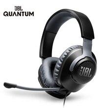 Jbl Gaming Headset QUANTUM100 7.1 Met Mic Microfoon Opvouwbare Hoofdtelefoon Voor PS4 Voor Nintendo Schakelaar Voor Xbox One Pc Tv telefoon