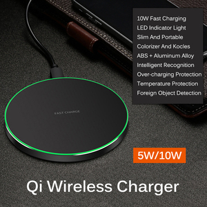 Image 2 - Qi 10W Fast Wireless Charger Pad For iPhone XR XS Max 11 Pro Wireless Charging Receiver For Xiaomi Type C Micro USB Mobile Phone