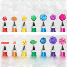 32pc / set Christmas Pastry Nozzle For Cream Candy Nozzle Cake Pastry Icing Pipe Nozzle Russian Pipe Tip  Stocked