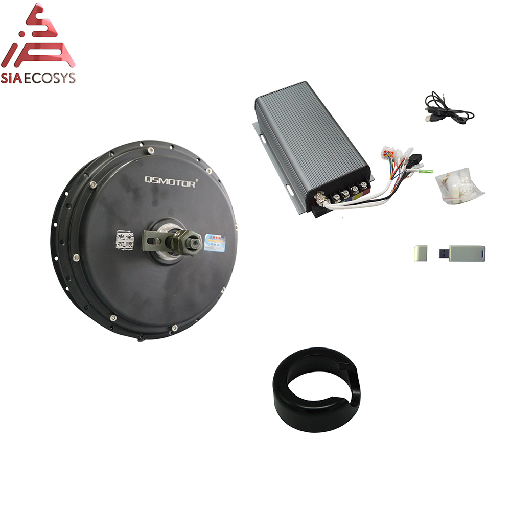 QS Motor 205 3kW 50h Spoke Hub Motor With  SVMC72150 Controller