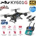 XKJ nueva llegada KY601G GPS Drone Quadcopter con 5G 4K HD Cámara 2000 metros Control de distancia RC helicóptero Drone juguete plegable