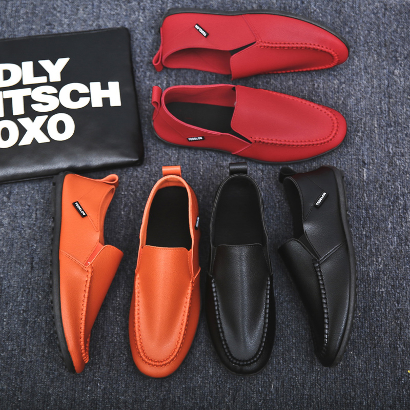 Male Loafers Doug-Shoes Boat Spring Comfortable Slip-On Autumn Cheap Flat-Footwear Gommino