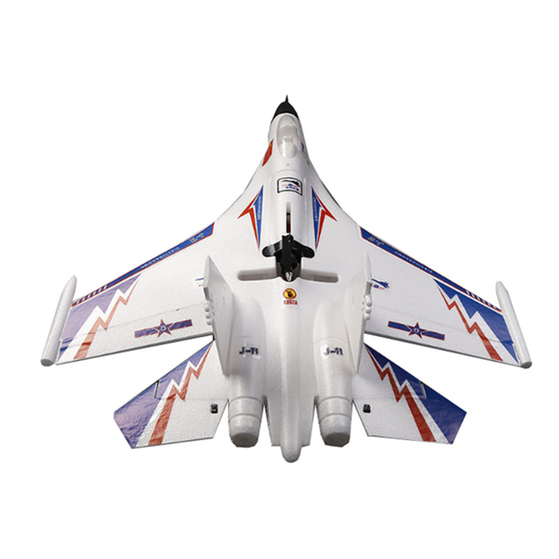 J-11 750mm Wingspan EPO Fighter Electric Remote Control RC Aircraft Plane RC Airplane RTF Toys Built-in Battery for Beginner