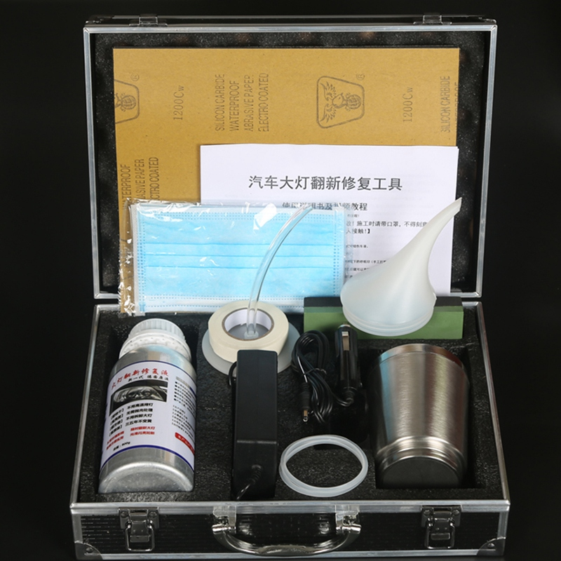 Car Headlight Repair Kit Polish Headlight Clean Kit Polishing Repair Non-Scratch Coat Scratch Repair Kit Headlight