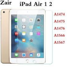 Película templada para iPad Air 1, 2, 2013, 2014, 9,7 pulgadas, pantalla de cobertura completa cristal Protector para Apple iPad A1474, A1475, A1476, A1566, A1567