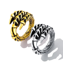 Europe and America domineering stainless steel ring men's claws ring personality tide male ring claws index finger jewelry VR612