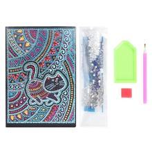DIY Diamond Painting Special Shaped Mandala Creative 50 Pages A5 Notebook Notepad Embroidery Cross Stitch Craft Gifts