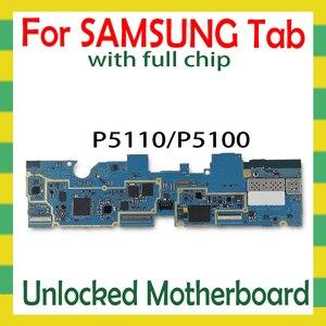Image 1 - Sbloccato Scheda Madre Per Samsung Galaxy Tab 2 10.1 P5110 P5100 Tablet WLAN Celluar scheda logica con il pieno di chip mainboard Android