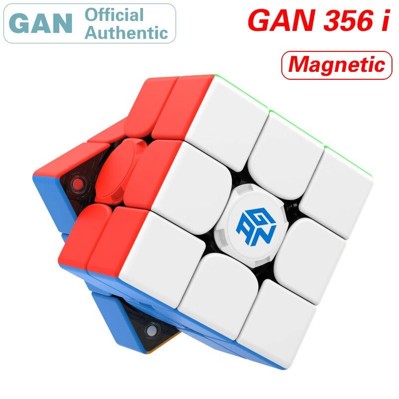GAN 356 i 3x3x3 Cube magique magnétique intelligent 3x3 356i aimants Intelligence Cube Station APP Puzzle en temps réel jouets pour enfants