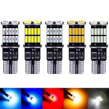 Rxz t10 w5w canbus interior do carro luz 194 501 led 26 4014 smd luzes do instrumento lâmpada dome luz sem erro 12v 6000k