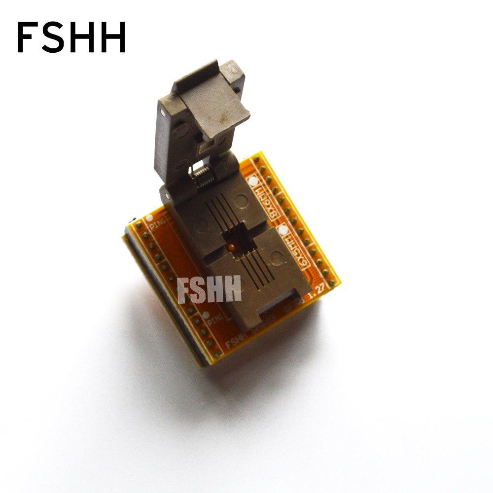 SA683 Xeltek Programmer Adapter  QFN8/D8 Adapter WSON8-DIP8 Programming Adapter Size=6.0x5.0
